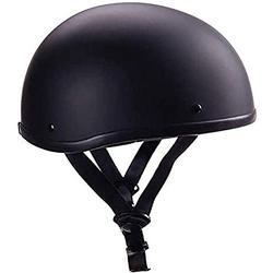 Retro-Halbhelm Motorradhelme Jethelm Vintage Helm Für Roller Moped-Baseballmütze Für Männer Und Frauen Street DOT-Zertifizierter Helm Fashion Brain-Cap 2,XL 61-62cm