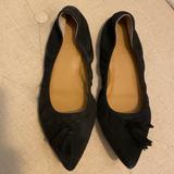 J. Crew Shoes   Jcew Womens Black Suede Flats   Color: Black   Size: 6