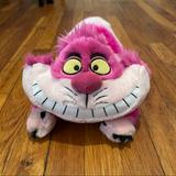 Disney Toys | Disney The Cheshire Cat Plush | Color: Cream/Pink | Size: Plush