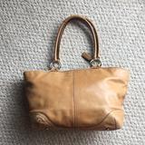 Coach Bags   Coach Shoulder Bag Tote Handbag Laptop Purse   Color: Tan   Size: Os