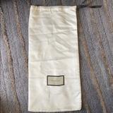 Gucci Bags   Authentic Gucci Satin Dust Shoe Bag Cream Satin   Color: Black/Cream   Size: Os