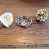 Disney Jewelry | Disney Mickey Mouse Silver & Gold Bracelet Watch | Color: Gold/Silver | Size: See Photos