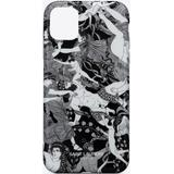 """Iphone 12 Pro Max Case In """"scandal"""" Printed Silicone - White - RIVE DROITE Cases"""