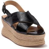 Alica Leather Espadrille Sandal - Black - Paloma Barceló Heels
