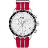 Quickster Chronograph Nba Houston Rockets Watch - Metallic - Tissot Watches