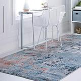 Rugs.Com Leipzig Collection Area Rug – 8X11 Multi Low-Pile Rug Perfect for Living Rooms, Large Dining Rooms, Open Floorplans