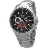 Coutura Chronograph Watch - Metallic - Seiko Watches