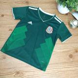 Adidas Shirts & Tops | Adidas Mexico Kids Green Soccer Jersey Size 20 | Color: Green/White | Size: 20b