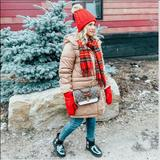 J. Crew Accessories | Christmas Checkered Plaid Scarf Accessories | Color: Green/Red | Size: Os