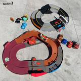 Disney Toys | Disney Pixar World Grand Prix Shake N Go | Color: Brown/Red | Size: One Size