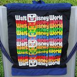 Disney Other   Disney Wdw Retro Logo Backpack Multicolor   Color: Black   Size: Osbb