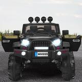 Gymax Truck Car Plastic in Black, Size 32.0 H x 31.0 W x 49.0 D in   Wayfair GYM05323