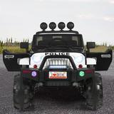 Gymax Police Car Plastic, Size 32.0 H x 31.0 W x 49.0 D in | Wayfair GYM06880
