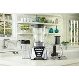 Oster® Pro 1200 Blender w/ 3 Pre-Programmed Settings, Blend-N-Go Cup & 5-Cup Food Processor, Brushed Nickel in Gray | Wayfair BLSTMBCBF000