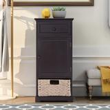 Red Barrel Studio® Jakovs 2 - Drawer 1 - Door Accent Cabinet Wood in Brown, Size 33.0 H x 15.7 W x 13.0 D in   Wayfair
