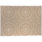 Ebern Designs Isgard Kitchen Mat Synthetics in Orange/White, Size 0.08 H x 36.0 W in   Wayfair B4E880EBC5EE4E458030ABAE1ECDF0ED