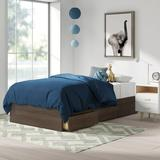 Mack & Milo™ Ralston Twin Platform Bed w/ 3 DrawersWood in Brown, Size 41.13 W x 76.0 D in   Wayfair 45028BA76FD34D9FAF48782264CBB9ED