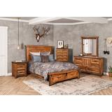 Sunset Trading Rustic City 5 Piece King Bedroom Set - Sunset Trading HH-4365-K-5PC