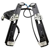 Lixingpt Front Driver Left FL Side Window Regulator w/o Motor For E46 3-Series,1pc New Aftermarket Power Window Regulator,Front Driver (Left) Side Only,Made of & Durable Material