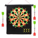 Ewqiqi Dart Board Game - Excellent Indoor Game and Party Games - Best Kids Toy Gift Indoor Outdoor Games for Family and Friends – Safe Dart Game Set