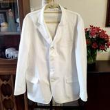 Gucci Suits & Blazers   Gucci 4-Button Summer Gatsby Blazer Short Lapel!   Color: White   Size: Measurements