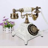 Astoria Grand Corded Telephone in White, Size 10.04 H x 6.89 W x 8.07 D in | Wayfair 2D98DFB9F83B4C20BA5DEFFD5647B909