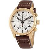 Chronograph Quartz Beige Dial Watch -02a - Metallic - Citizen Watches