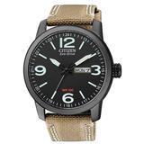 Eco-drive Black Dial Watch -23e - Black - Citizen Watches