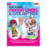 Walter Foster Scrapbooks - How to Draw Manga Chibis & Cute Critters Paperback