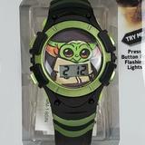 Disney Accessories | Disney Baby Yoda Star Wars Mandalorian Watch | Color: Green | Size: Os