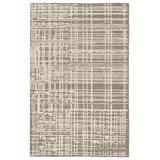 Arlo Handmade Trellis Gray/ Cream Area Rug (5'X8') - Jaipur Living RUG143974