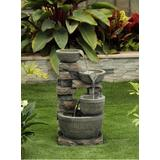 3 Bowls Fountain Without Led Light- Jeco Wholesale FCL175