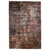 Donati Abstract Brown/ Tan Runner Rug (3'X8') - Vibe by Jaipur Living RUG149908