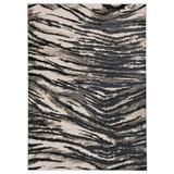 """Saber Animal Black/ Gray Area Rug (5'X7'6"""") - Jaipur Living RUG145266"""