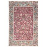 Parlour Oriental Multicolor/ Pink Area Rug (6'X9') - Jaipur Living RUG145892