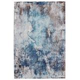 Comet Abstract Blue/ Brown Area Rug (5'X8') - Vibe by Jaipur Living RUG150798