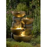 Pots Water Fountain With Led Light- Jeco Wholesale FCL037