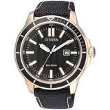 Eco-drive Black Dial Watch -01e - Black - Citizen Watches