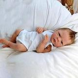 ALLWIN Reborn Baby Dolls,18 Inches Artificial Reborn Baby Doll, 46cm Silicone Full Body Reborn Baby Dolls, Best Birthday Set Suitable for 3 Year Old,Girl