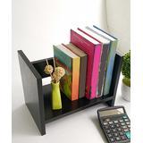 eDooFun Desk Organizers Black - Black Tabletop Book Shelf