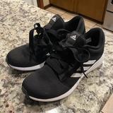Adidas Shoes | Adidas Black Tennis Shoes Workout Shoes | Color: Black | Size: 6
