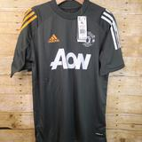 Adidas Shirts & Tops | New Adidas Manchester United 2021 Soccer Training | Color: Gray | Size: Various