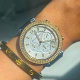 Michael Kors Accessories   Michael Kors Silver And Gold Two-Tone Watch   Color: Gold/Silver   Size: Os