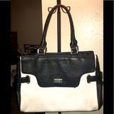 Nine West Bags   Nine West Large Black & White Purse.   Color: Black/White   Size: Os