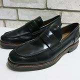 Coach Shoes | Coach Strap Leather Moccasins Loafers Shoes 12 Xw | Color: Black | Size: 12