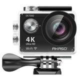 AKASO EK7000 in Black 4K WIFI Action Camera Ultra HD Waterproof Camcorder 12MP - Best Babie EK7000