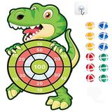 "HONGID Dinosaur Toys for 3-8 Year Olds Boys,30"" Dinosuar Dartboard Games Boys Gifts for Age 4-10 Toddler Outdoors Toys for Kids Gifts for 3-7 Year Old Boys Games Toys Gifts"