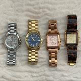 Michael Kors Accessories | Michael Kors Oversized Watches | Color: Gold/Silver | Size: Os