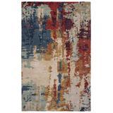 Matcha Handmade Abstract Multicolor/ Red Area Rug (5'X8') - Jaipur Living RUG145759