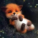 Non finished Handcrafted Pocket Animal Pet Doll Toy Wool Needle Felting Kit Dog Cat Fox Rabbit Relaxed DIY Kit For Children Kids